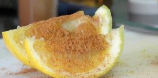 receita de limão e canela