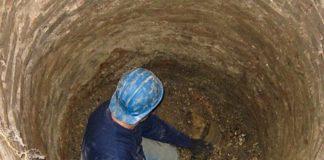 Homem cavou um túnel
