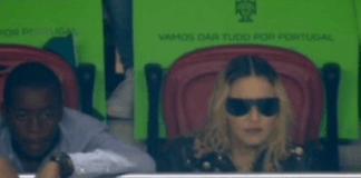 Madonna no seu julgamento