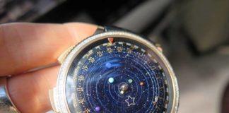relógio planetário