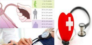 Tensão arterial deve ter determinado valores