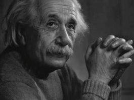 Einstein antes de morrer