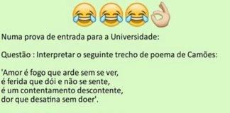 aluna portuguesa