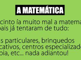 bem a matemática