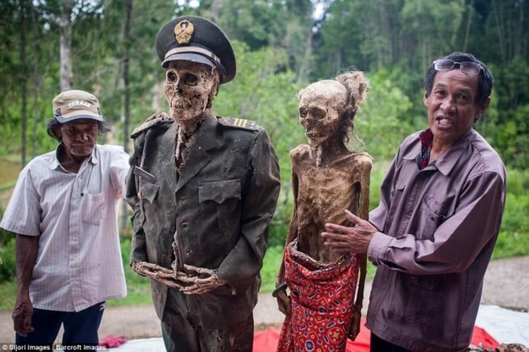 desenterram mortos (