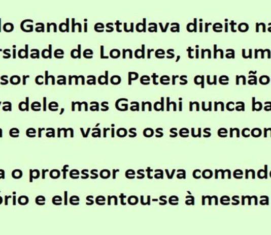 estudava direito na Universidade de Londres