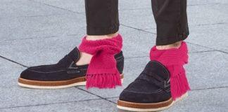 Cachecóis para tornozelo são a nova tendência
