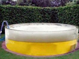 casa com piscina de cerveja