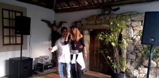 Maria Leal e Zé Cabra fazem dueto juntos