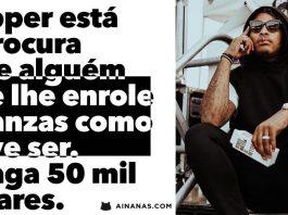 Rapper paga 50 mil dólares