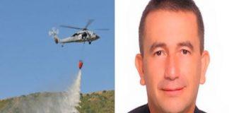 água benta de helicóptero