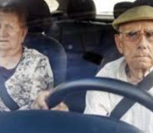 Condutores com mais de 65 anos