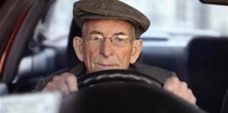 conduzir muito devagar na fuga