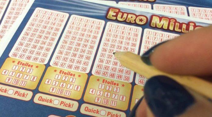 ex-mulher ganha o Euromilhões
