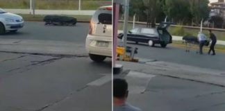 Morto cai do carro funerário