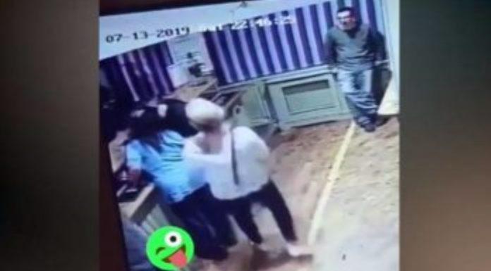 Mulher dá cabeçada no marido