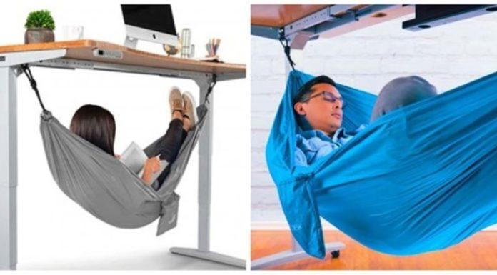 rede para dormir uma sesta