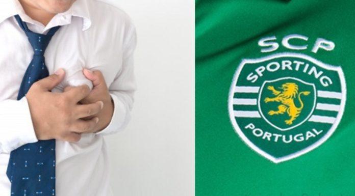 Estudo aponta que ser do Sporting faz mal à saúde