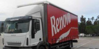 Camião da Renova assaltado na Amadora