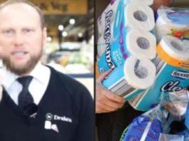 Cliente tenta devolver 4,800 rolos de papel higiénico