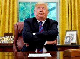 Trump sugere tratar miopia com detergente limpa-vidros.