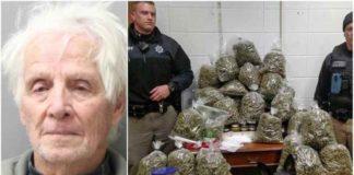 Casal apanhado com 27kg marijuana