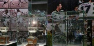 Assaltantes roubam a sala de troféus do Sporting
