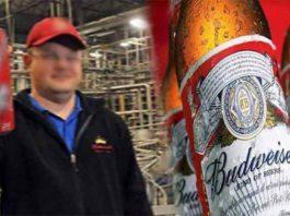 Funcionário de uma cervejaria