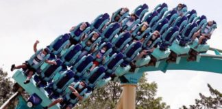 Parque de diversões pede às pessoas que não gritem