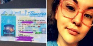 Condutora recebe carta de condução