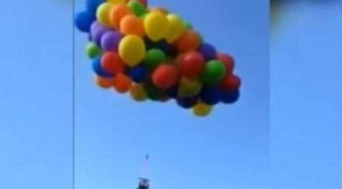 Homem preso por prender 137 balões