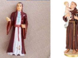 Mulher reza há anos para boneco