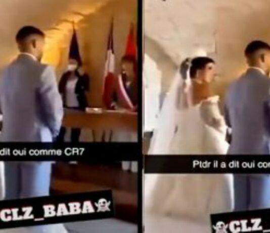 Noivo diz sim à noiva