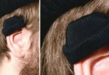 gorro para proteger orelhas frio