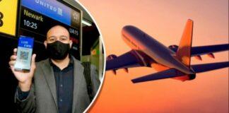 """""""passaporte de vacinação"""" para quem quiser viajar"""