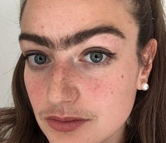 Mulher recusa depilar-se